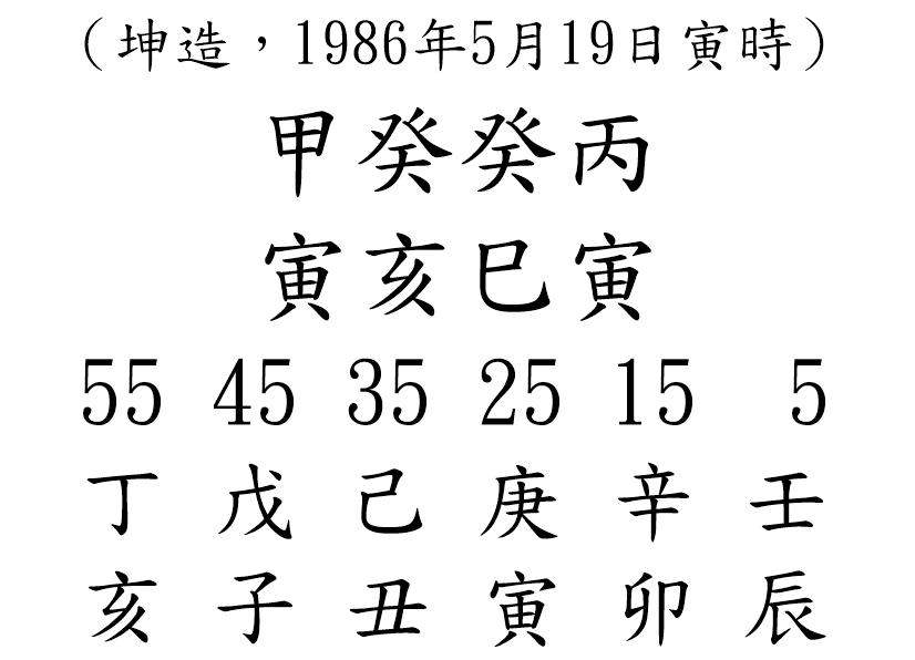 八字案例67