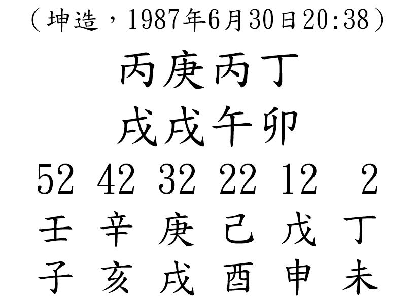 八字案例79